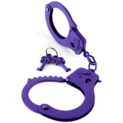 FETISH FANTASY OFFICIAL HANDCUFFS PURPLE