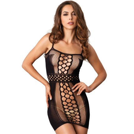 LEG AVENUE VESTIDO RED NEGRO