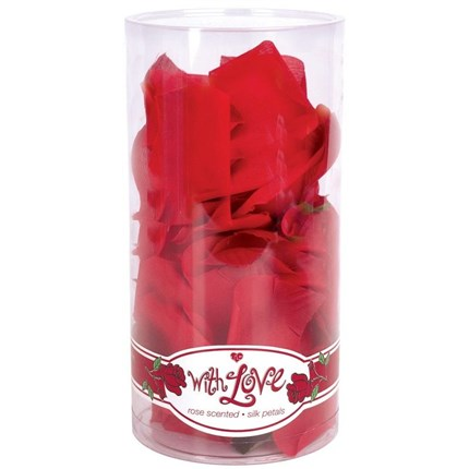 WITH LOVE, ROSE SCENTED SILK PETALS